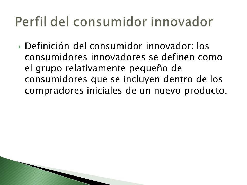 Perfil del consumidor innovador