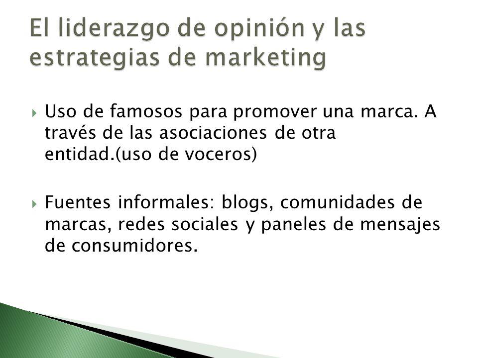 El liderazgo de opinión y las estrategias de marketing