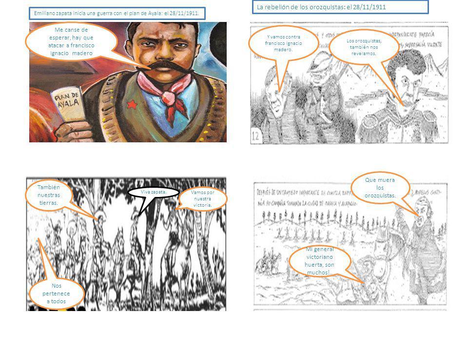 La rebelión de los orozquistas: el 28/11/1911