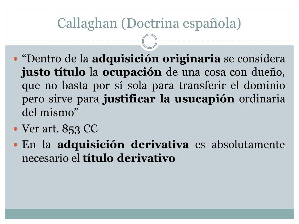Callaghan (Doctrina española)