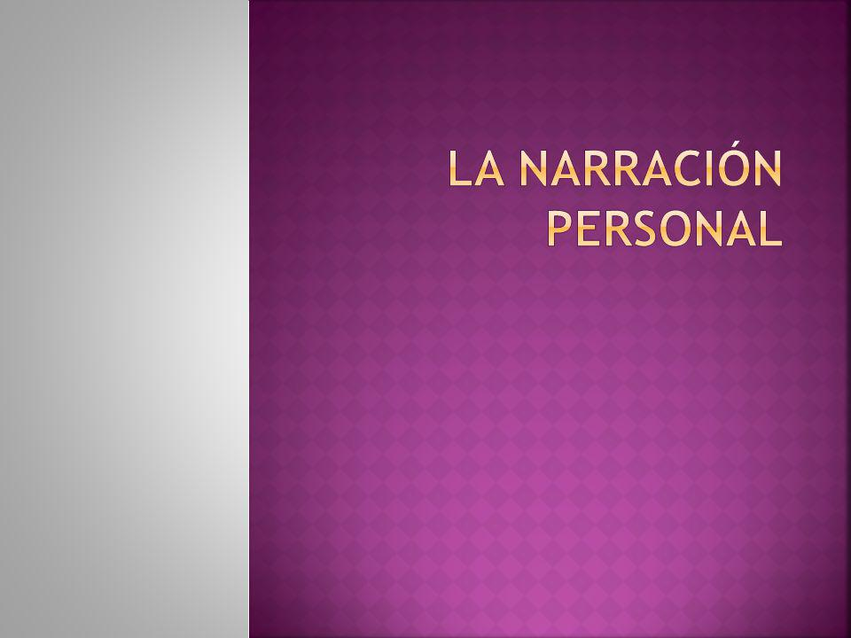 La narración personal