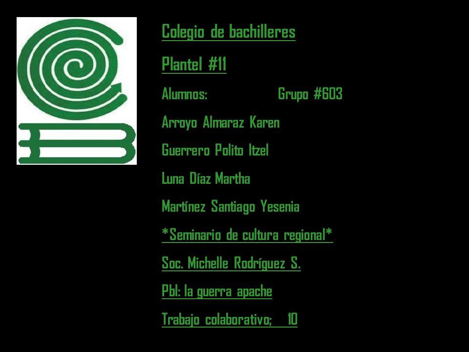 Colegio de bachilleres Plantel #11