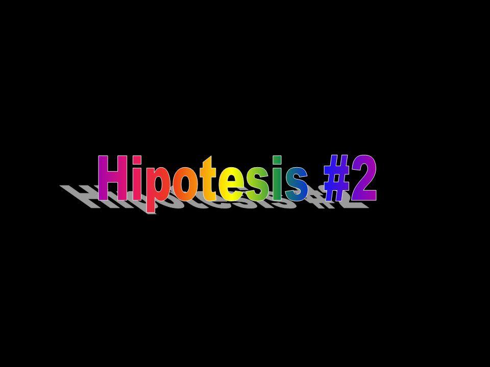 Hipotesis #2