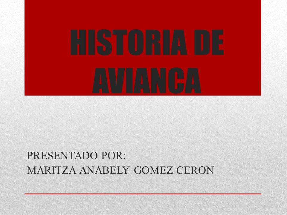 PRESENTADO POR: MARITZA ANABELY GOMEZ CERON