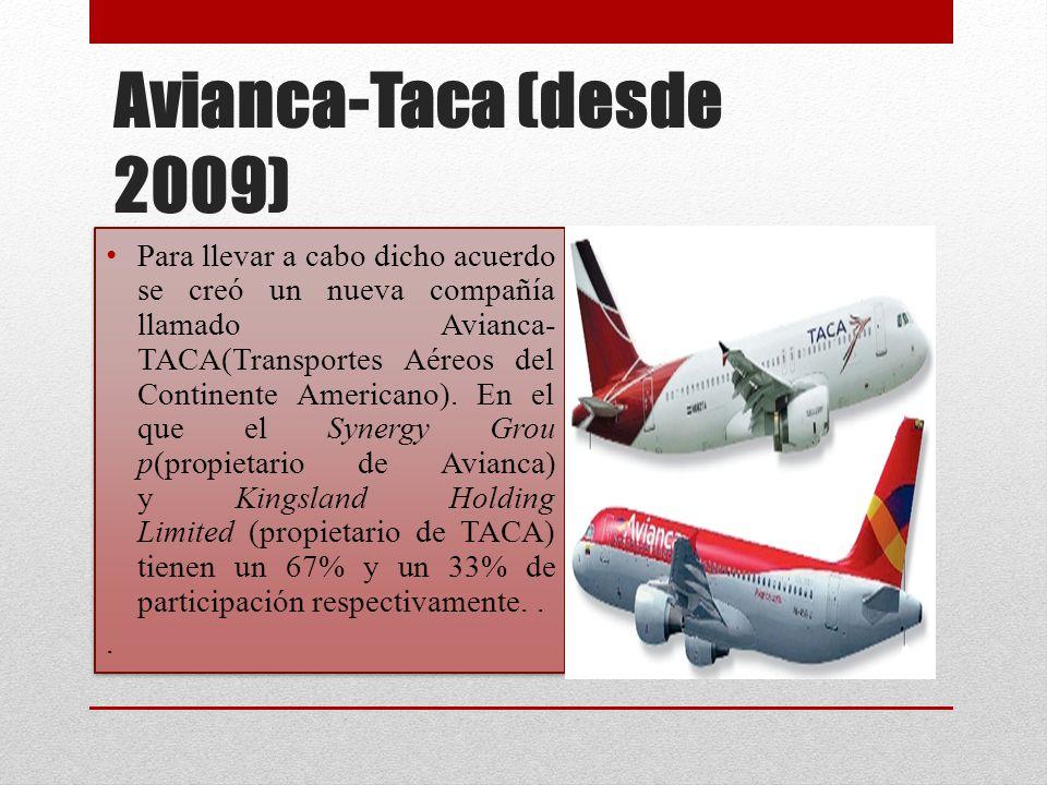 Avianca-Taca (desde 2009)