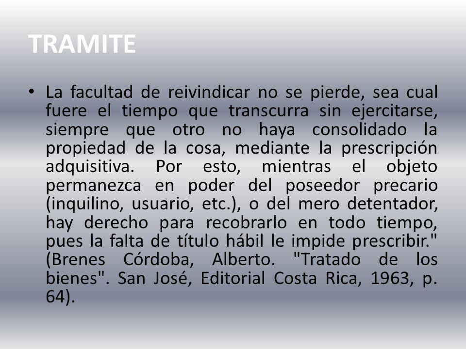 TRAMITE
