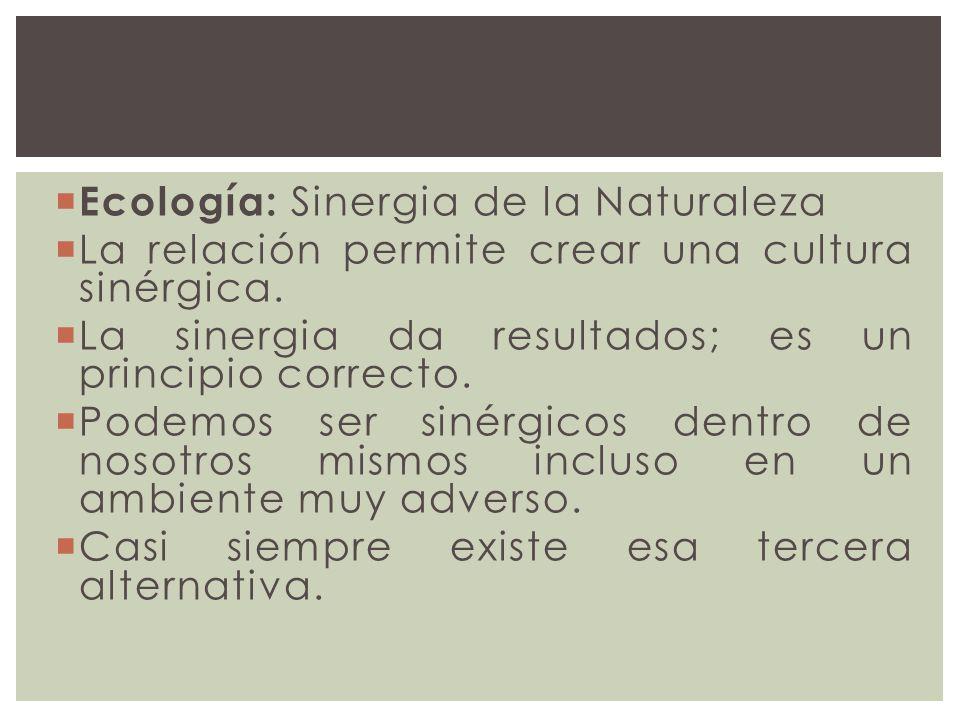 Ecología: Sinergia de la Naturaleza