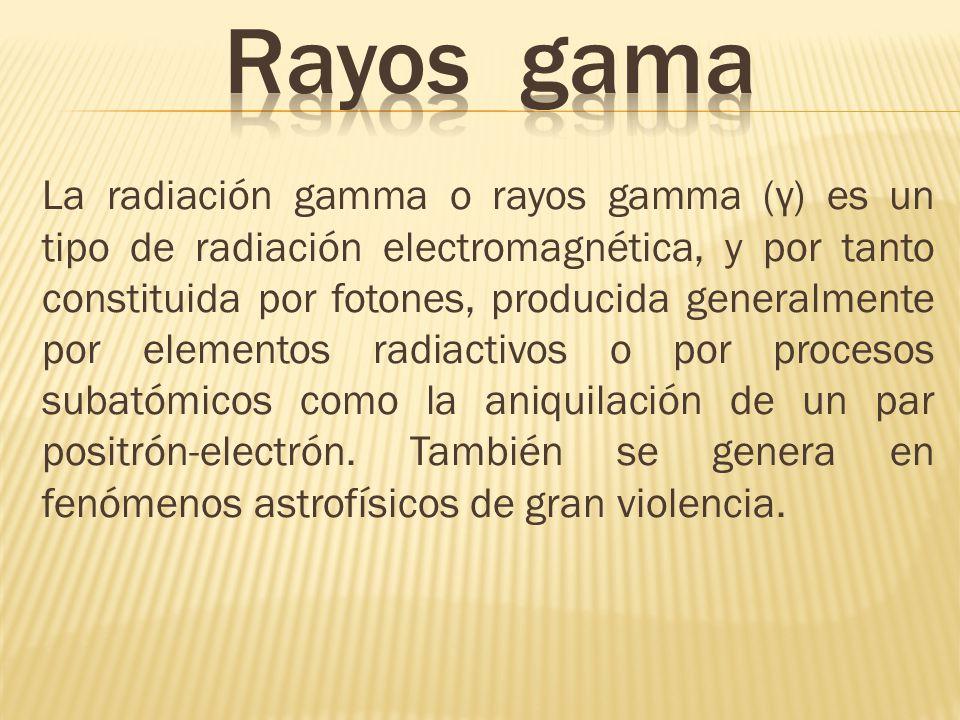 Rayos gama