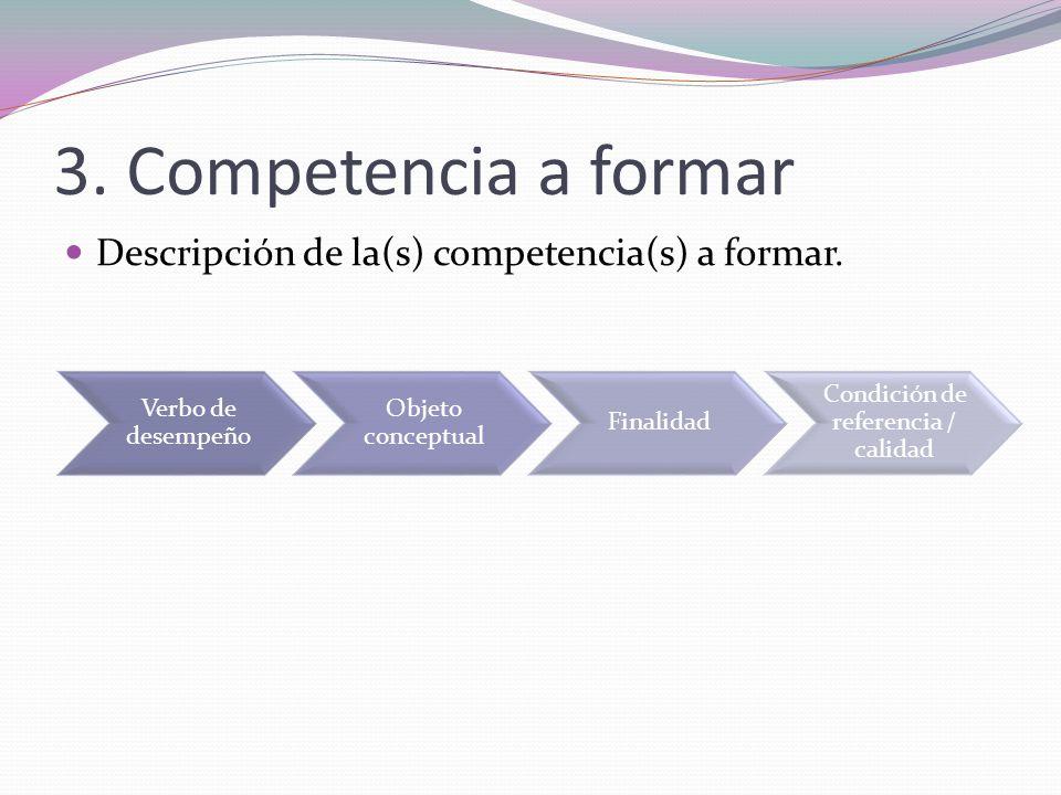 Condición de referencia / calidad