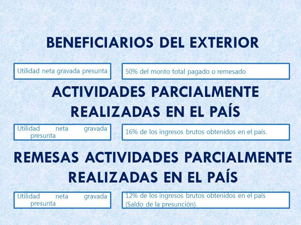BENEFICIARIOS DEL EXTERIOR
