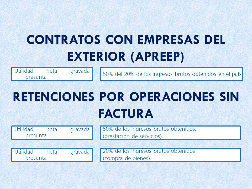 CONTRATOS CON EMPRESAS DEL EXTERIOR (APREEP)