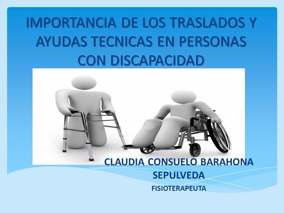CLAUDIA CONSUELO BARAHONA SEPULVEDA FISIOTERAPEUTA