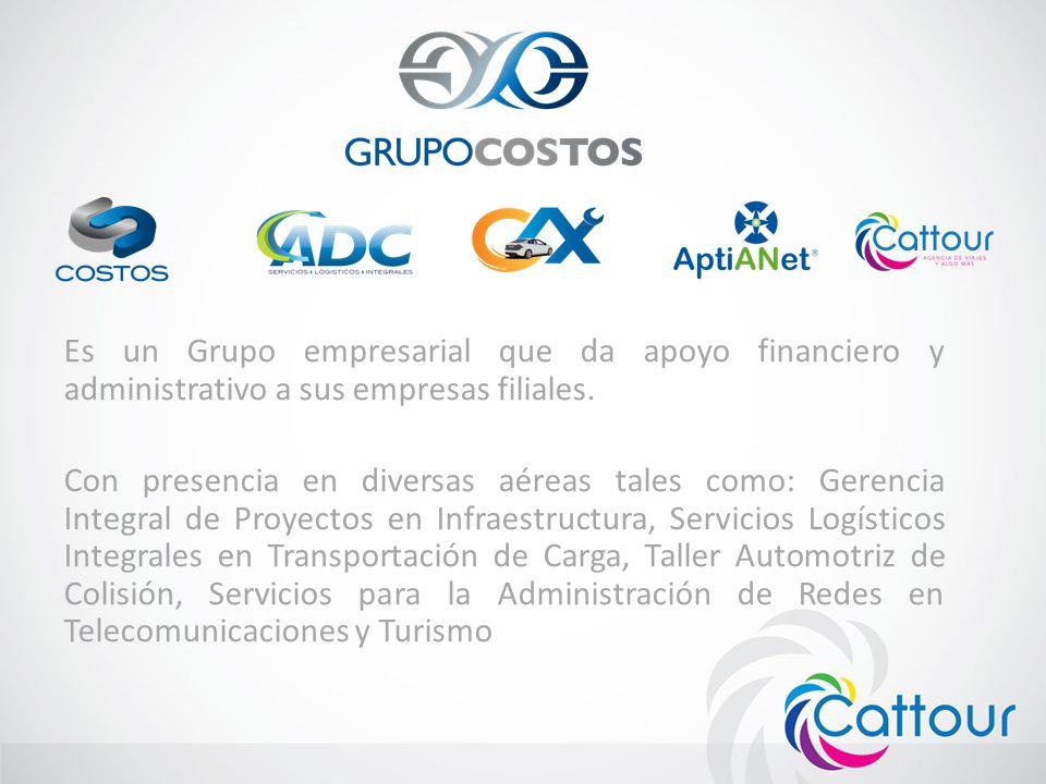 Es un Grupo empresarial que da apoyo financiero y administrativo a sus empresas filiales.