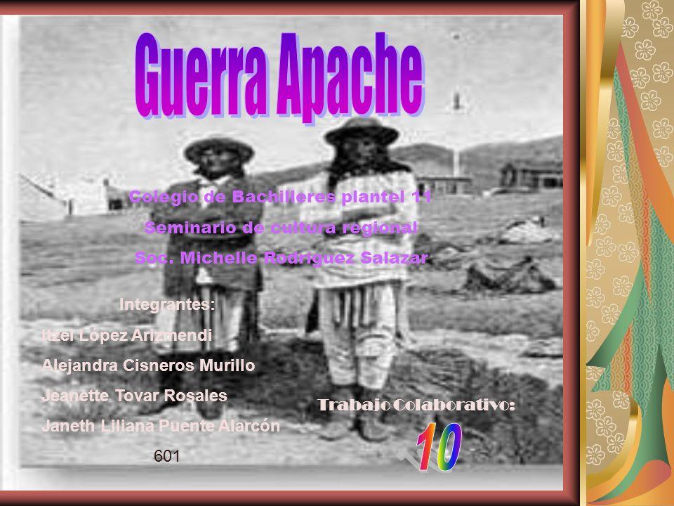 Guerra Apache 10 Colegio de Bachilleres plantel 11