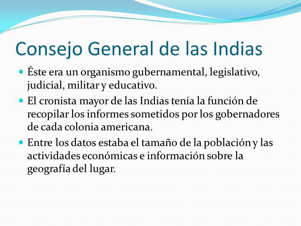 Consejo General de las Indias