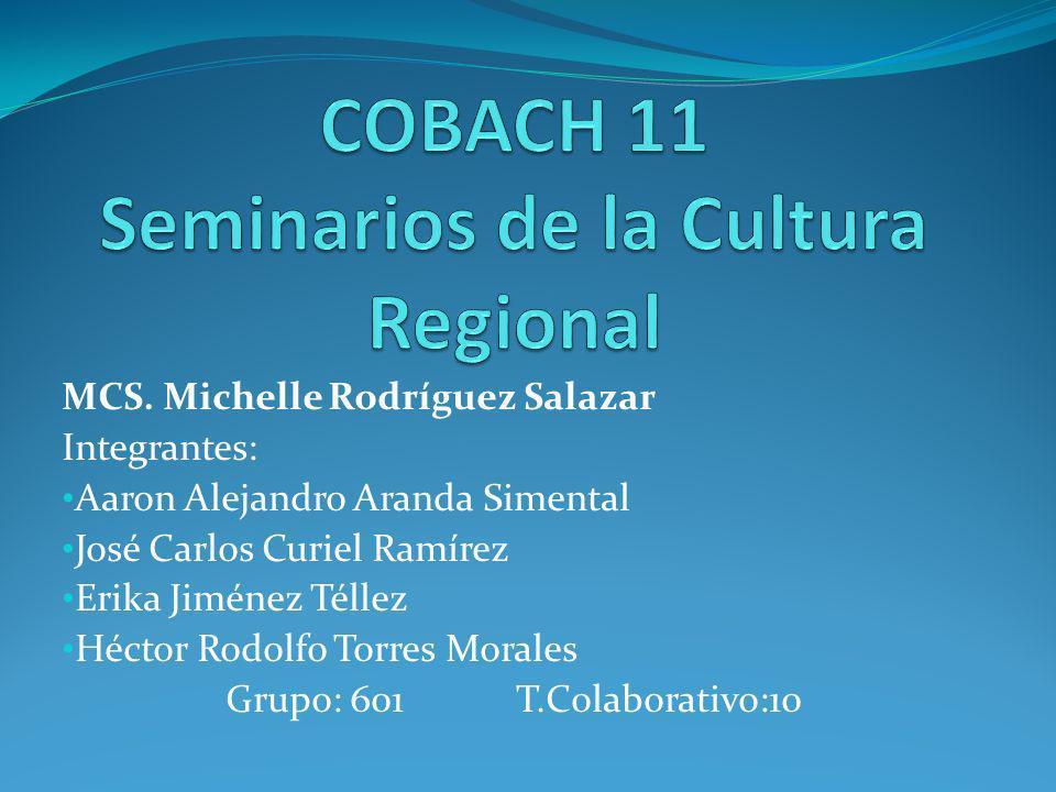 COBACH 11 Seminarios de la Cultura Regional