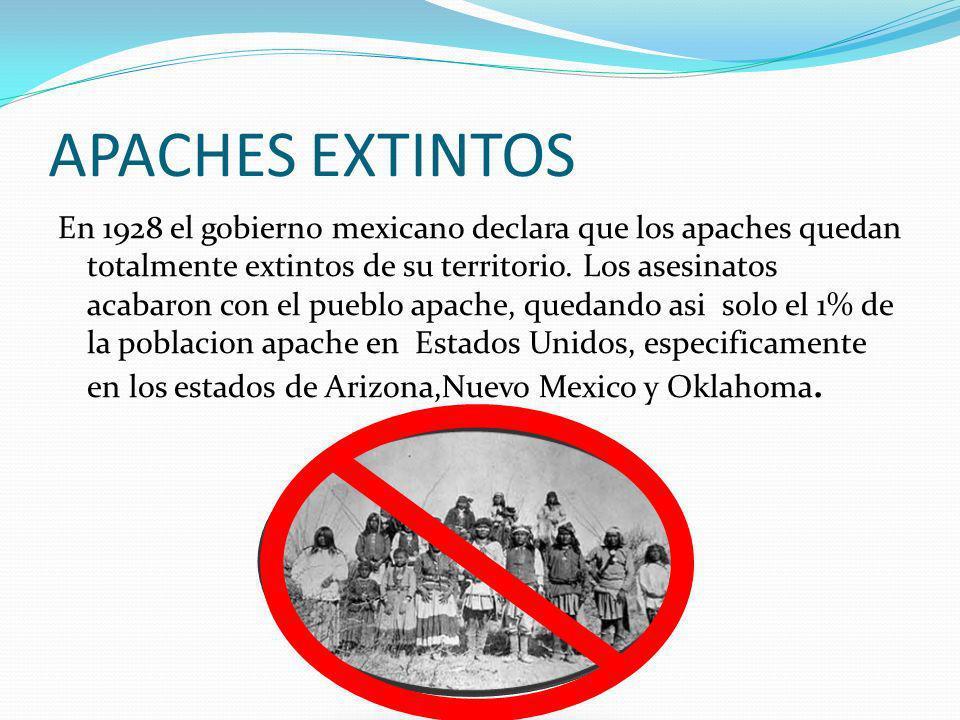 APACHES EXTINTOS