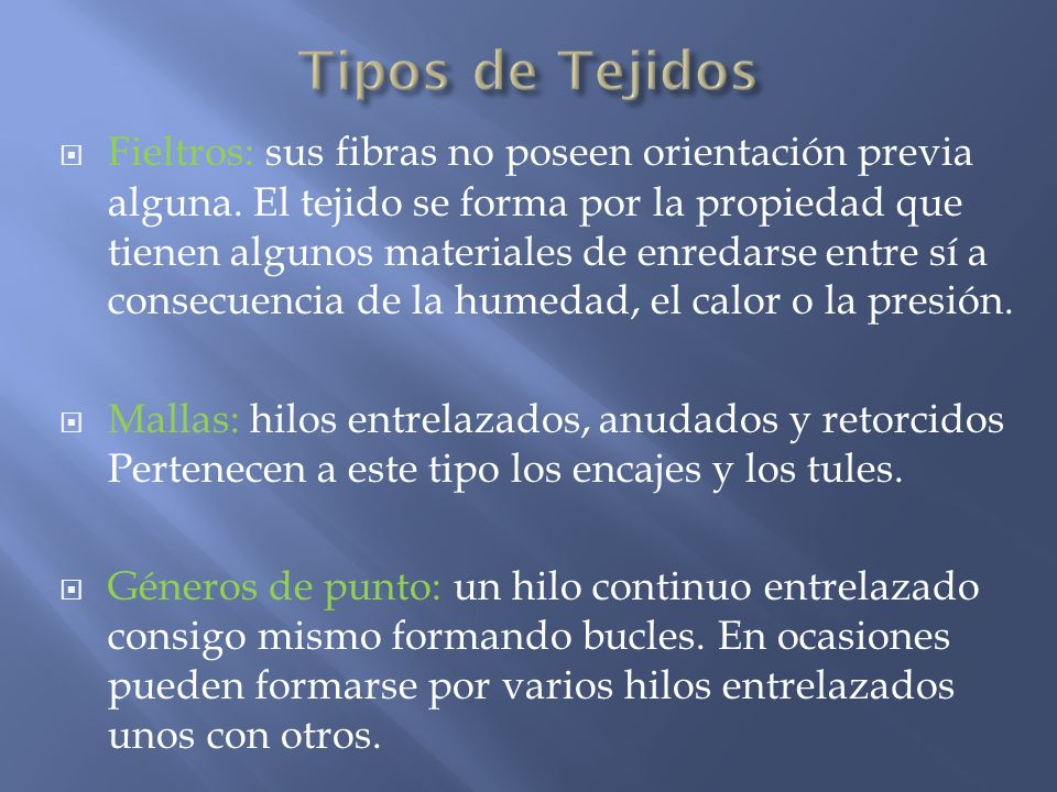 Materiales y fibras textiles ppt video online descargar - Tipos de tejados ...