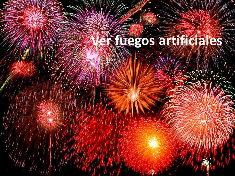 Ver fuegos artificiales