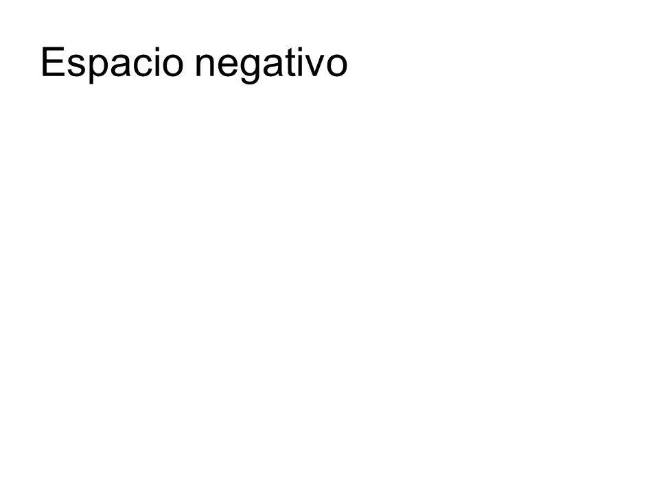 Espacio negativo