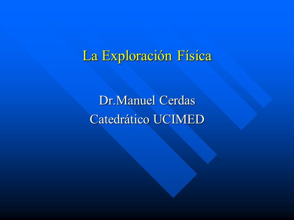 Dr.Manuel Cerdas Catedrático UCIMED