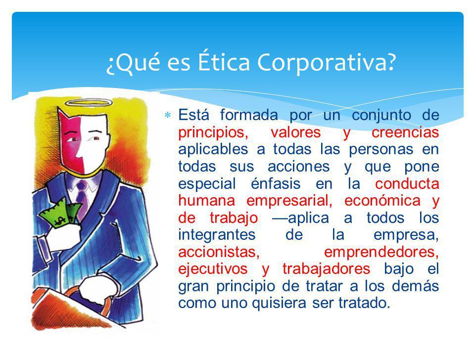 ¿Qué es Ética Corporativa