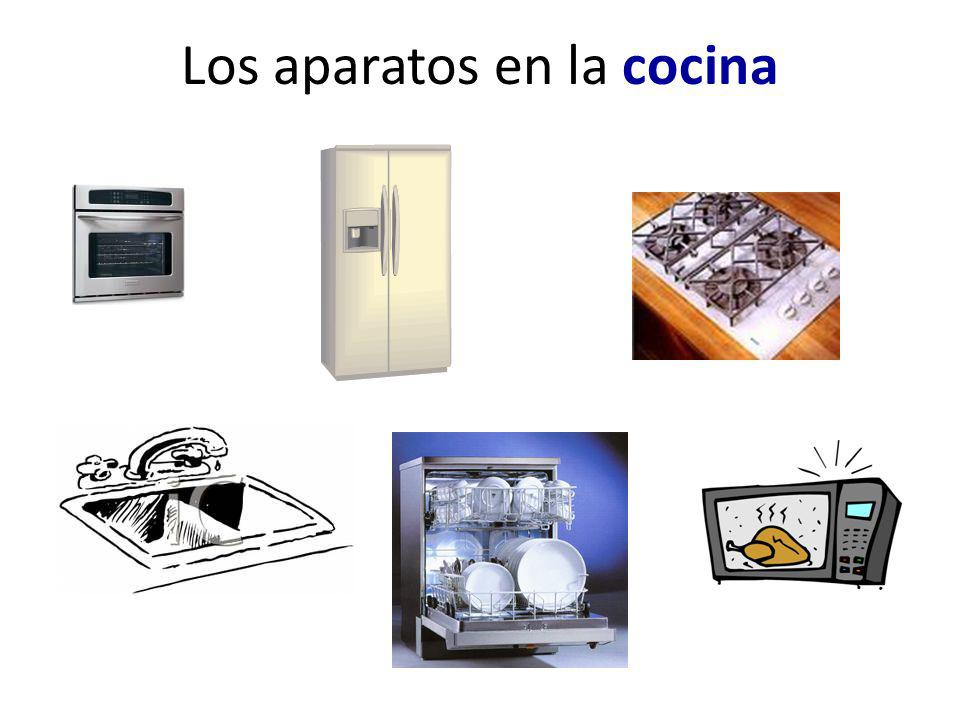 Los aparatos en la cocina