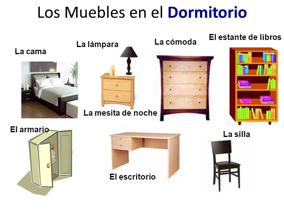 Los Muebles en el Dormitorio