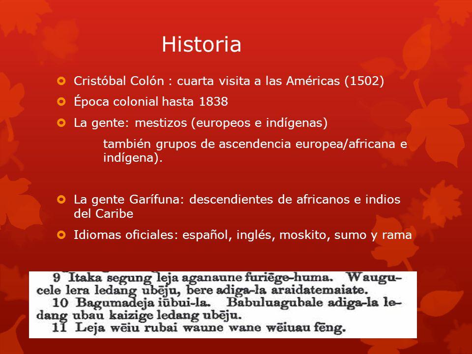 Historia Cristóbal Colón : cuarta visita a las Américas (1502)