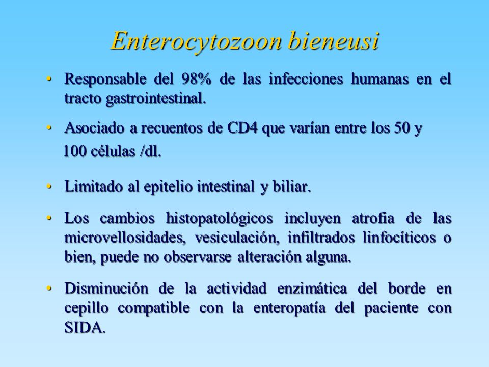 Enterocytozoon bieneusi