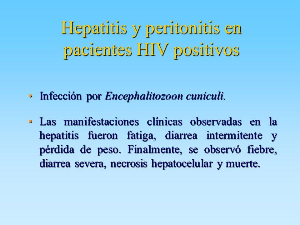 Hepatitis y peritonitis en pacientes HIV positivos