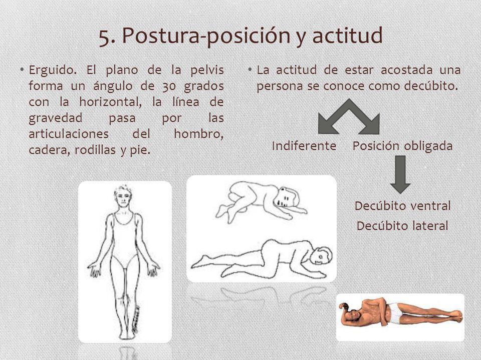 5. Postura-posición y actitud