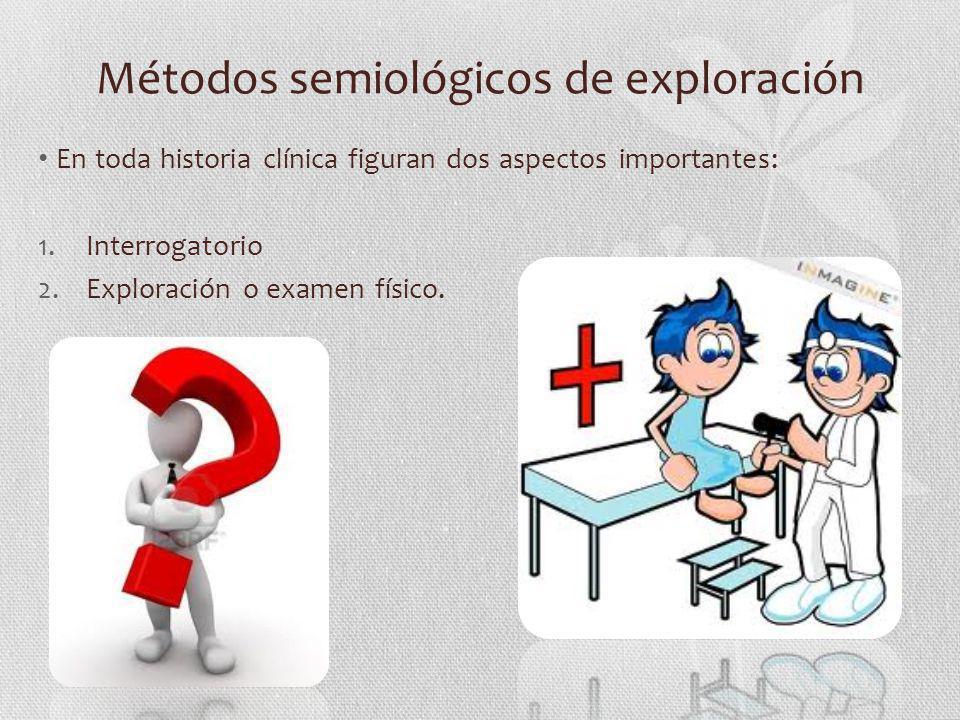 Métodos semiológicos de exploración