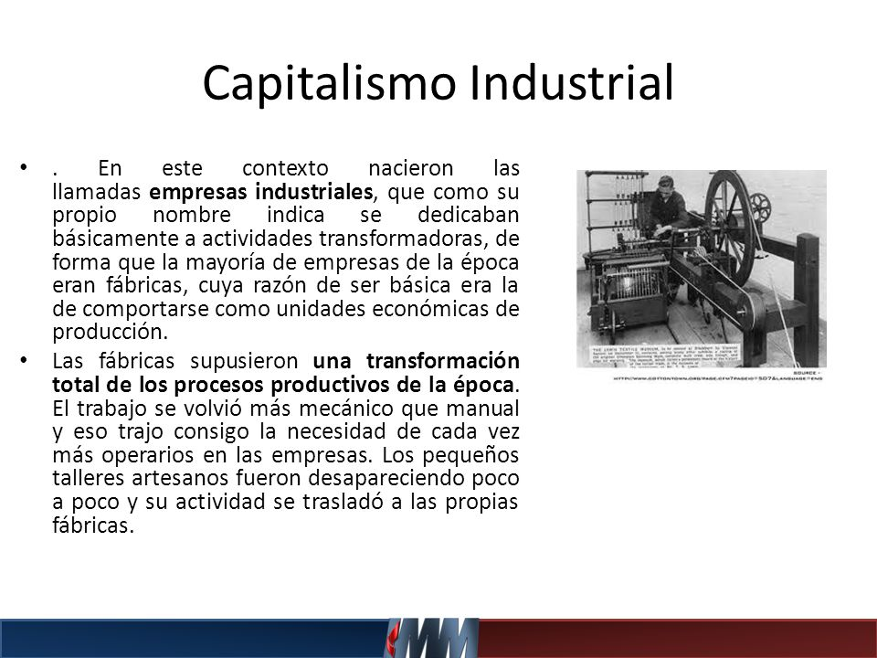 Capitalismo Industrial