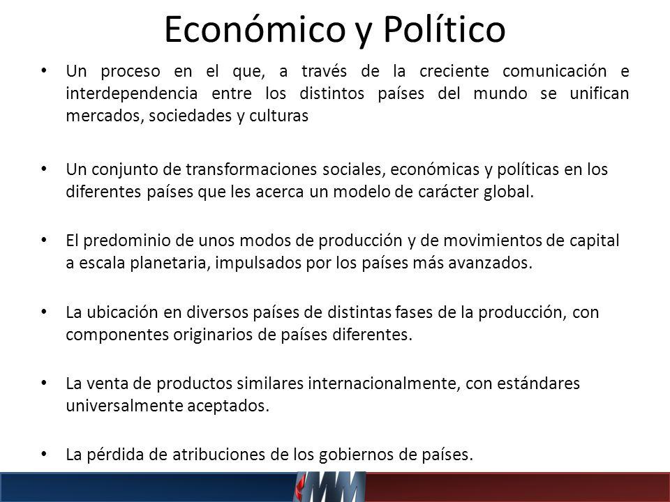 Económico y Político