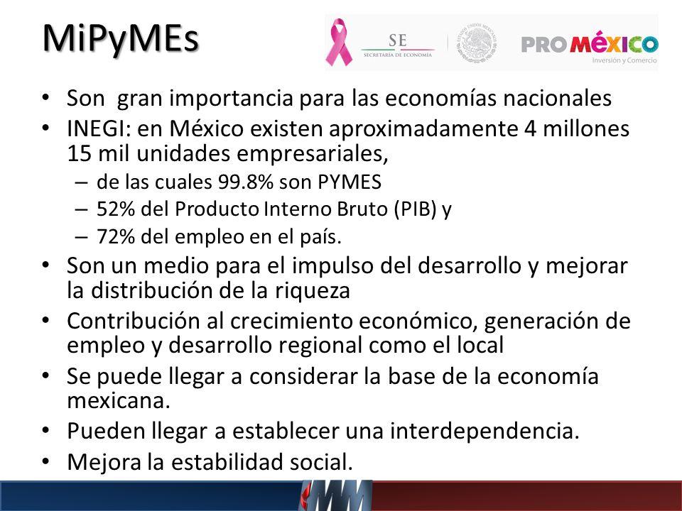 MiPyMEs Son gran importancia para las economías nacionales