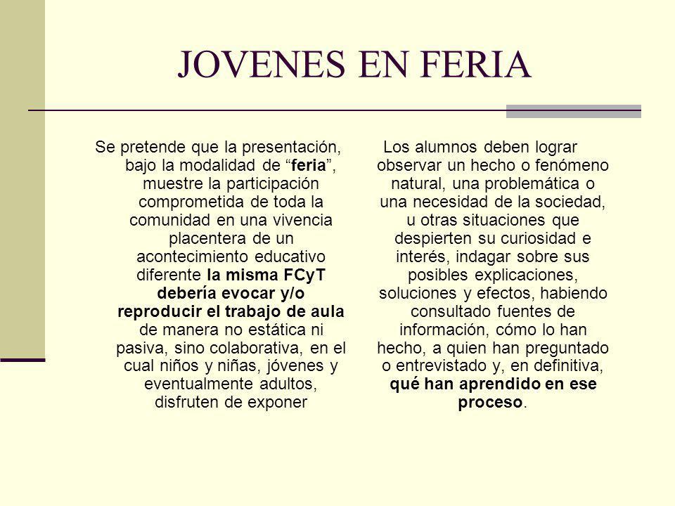 JOVENES EN FERIA
