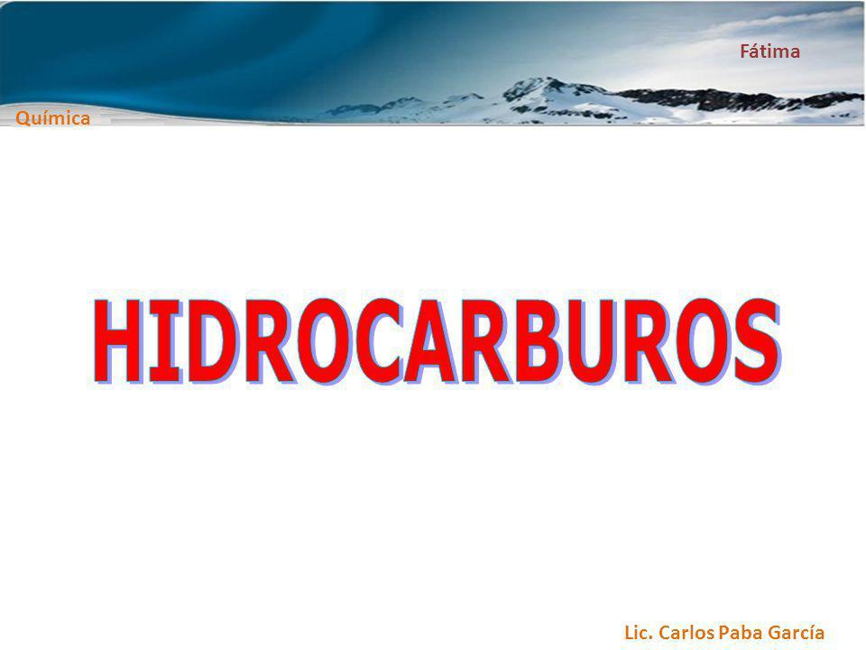 Química Fátima HIDROCARBUROS