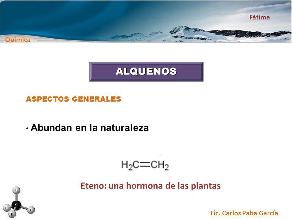Eteno: una hormona de las plantas