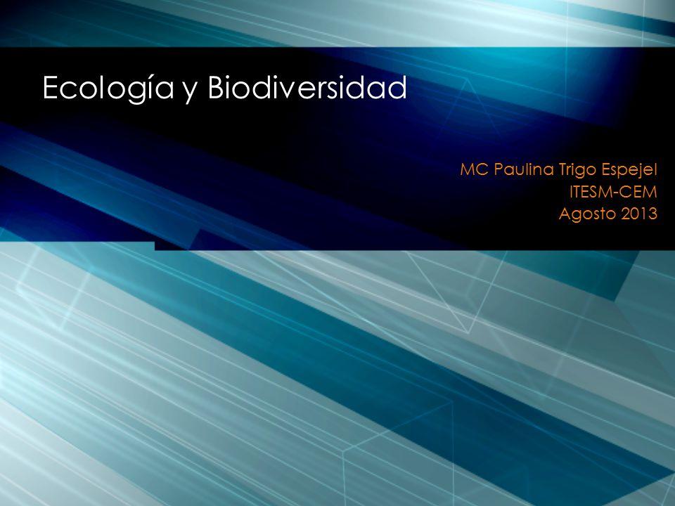 Ecología y Biodiversidad