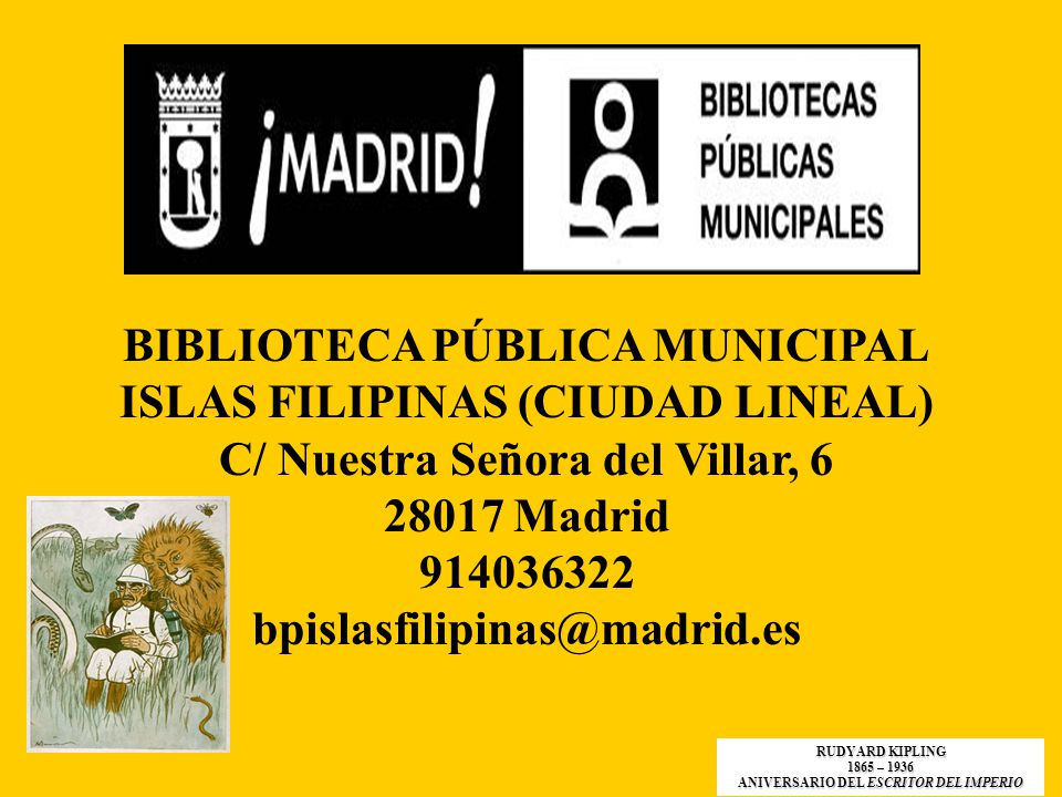 BIBLIOTECA PÚBLICA MUNICIPAL ISLAS FILIPINAS (CIUDAD LINEAL)