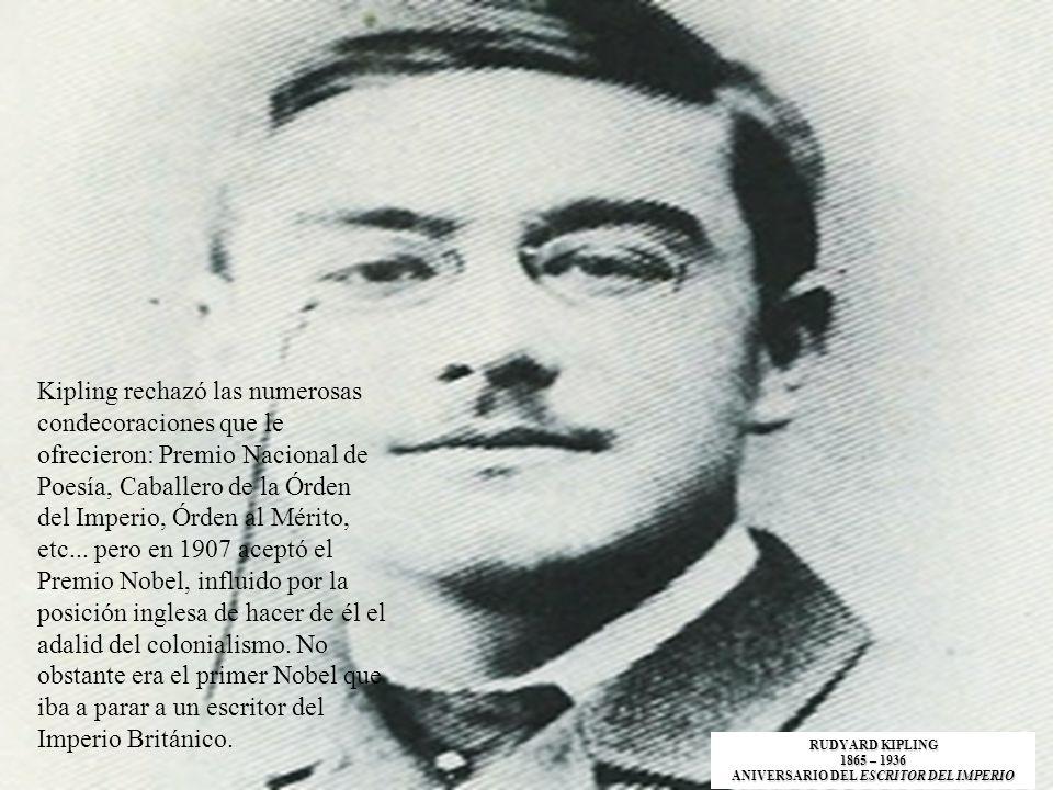 ANIVERSARIO DEL ESCRITOR DEL IMPERIO