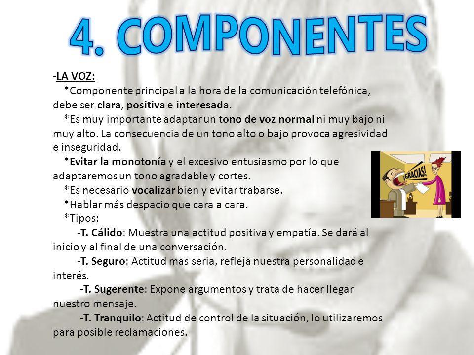 4. COMPONENTES