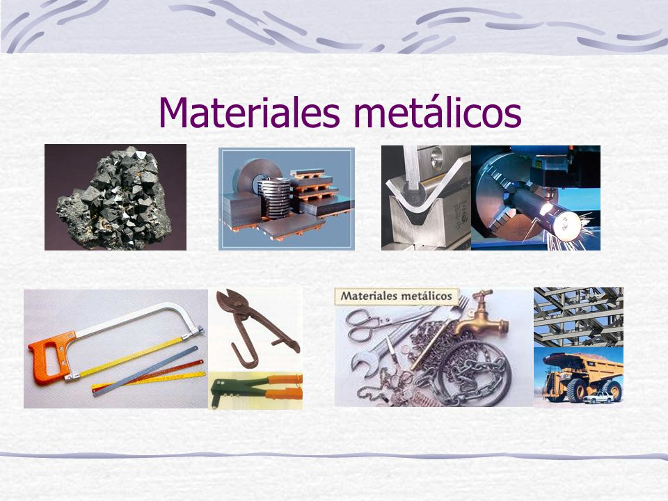 Materiales metálicos