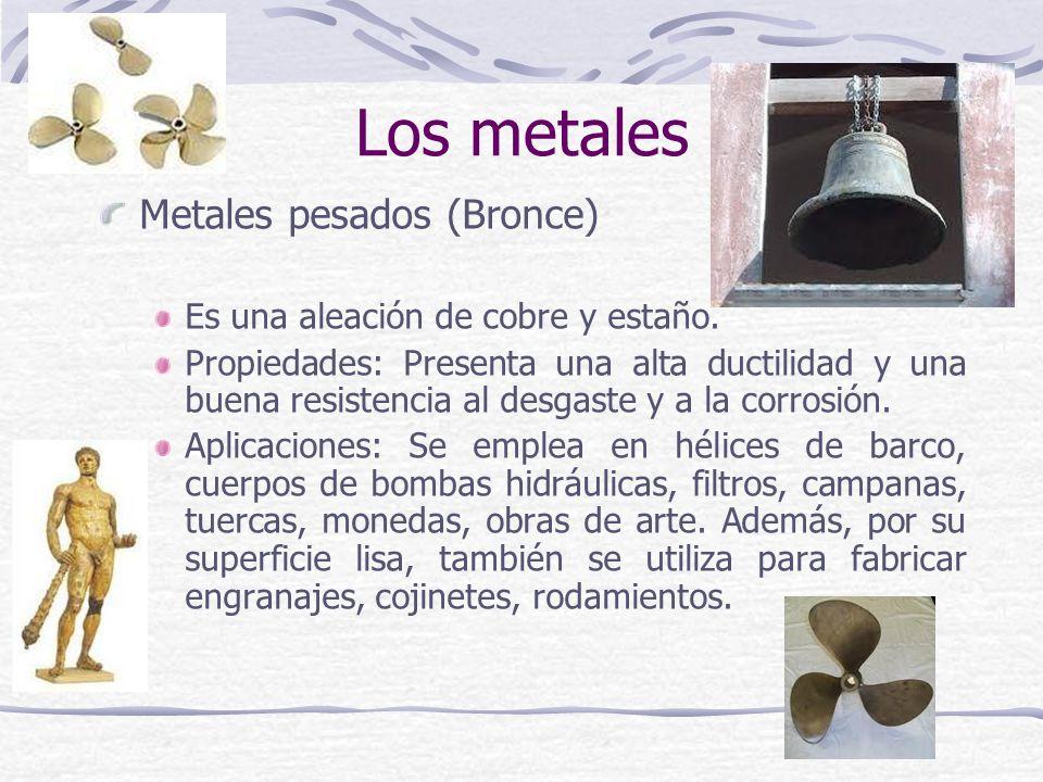 Los metales Metales pesados (Bronce)
