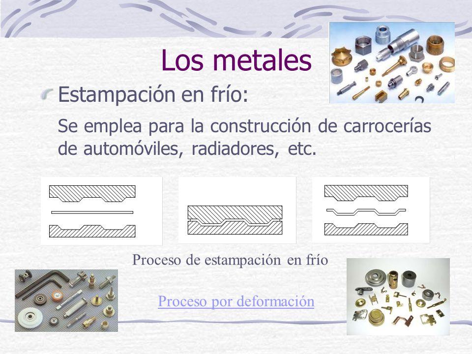 Los metales Estampación en frío: