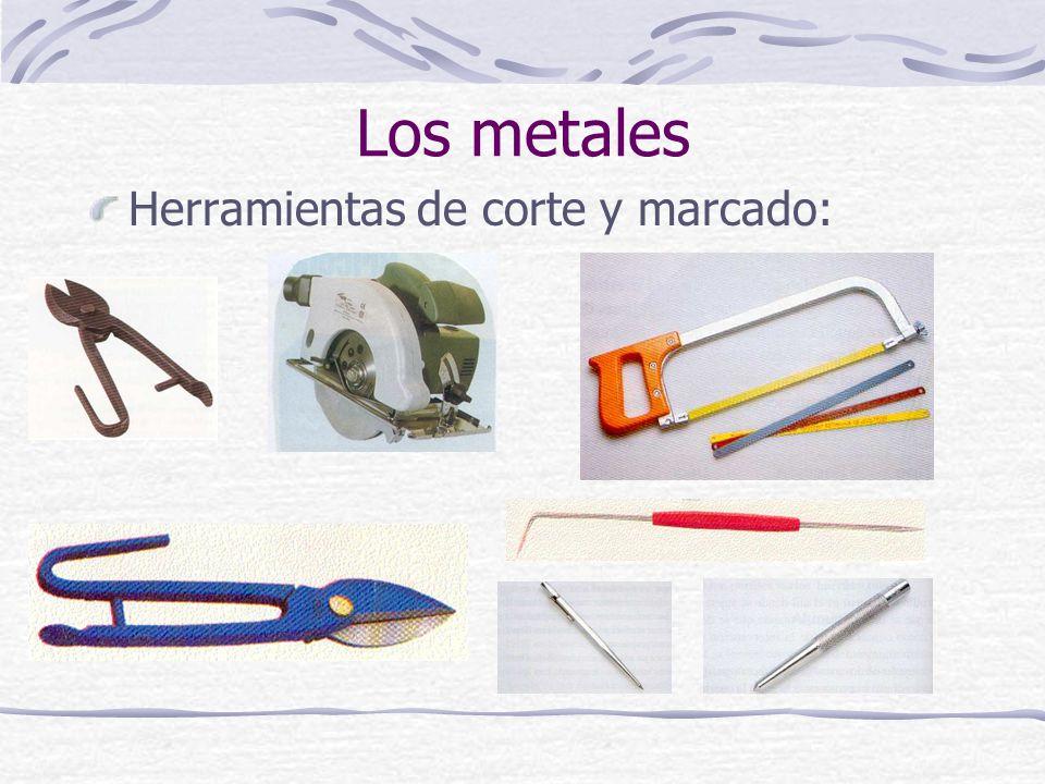 Los metales Herramientas de corte y marcado:
