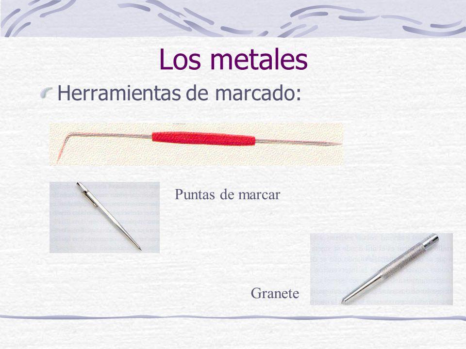 Los metales Herramientas de marcado: Puntas de marcar Granete
