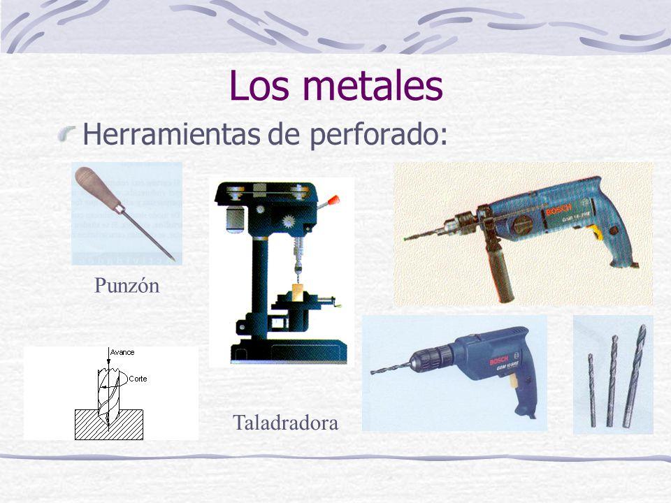 Los metales Herramientas de perforado: Punzón Taladradora