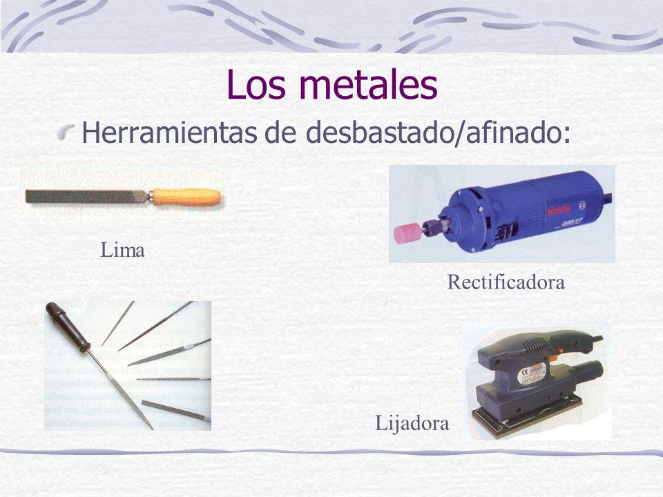 Los metales Herramientas de desbastado/afinado: Lima Rectificadora